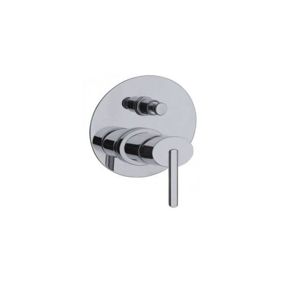 JustTaps Ovaline Concealed Shower Mixer With Diverter Chrome 2618079