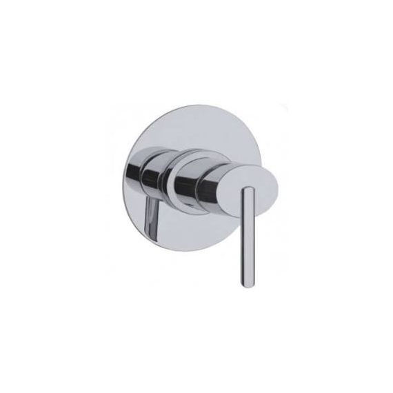 JustTaps Ovaline Concealed Single Lever Shower Mixer Chrome 2618227