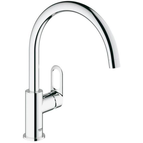 Grohe BauLoop Kitchen Sink Mixer Tap Single Lever 31368000