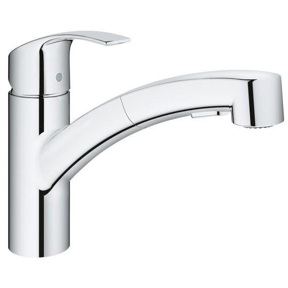 Grohe Eurosmart Kitchen Sink Mixer Pull Out 30305000