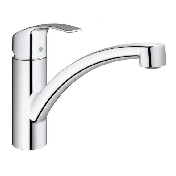 "Grohe Eurosmart Kitchen Sink Mixer Tap 1/2"" 33281 Chrome"