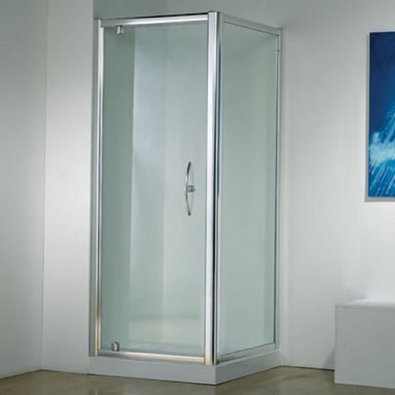 Kudos Original 760 Pivot Door In Silver