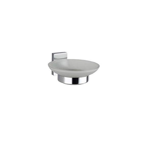 RAK Ceramics Resort Glass Soap Dish and Holder RAKC17159