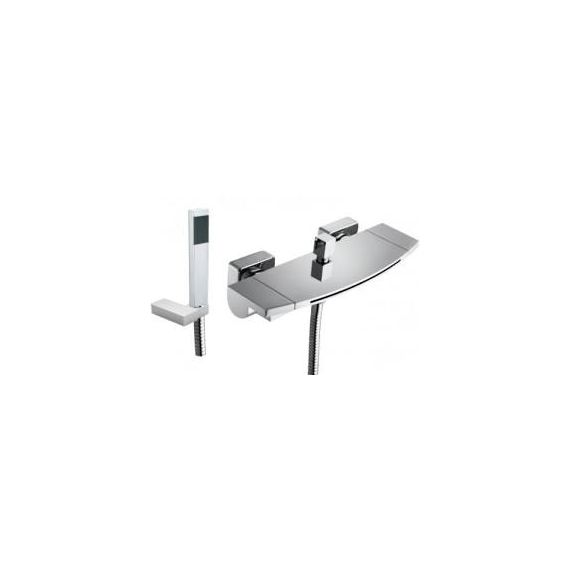 JustTaps Flow Wall Mouted Bath Shower Mixer With Kit 43267
