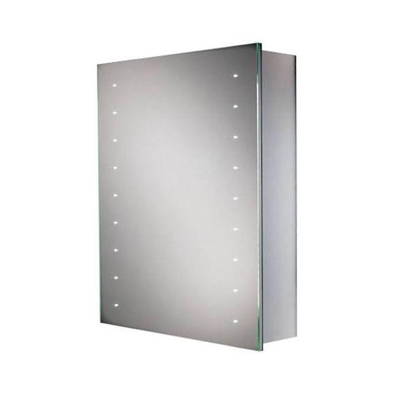 HiB Nimbus 50 LED Aluminium Demisting Mirror Cabinet 45800