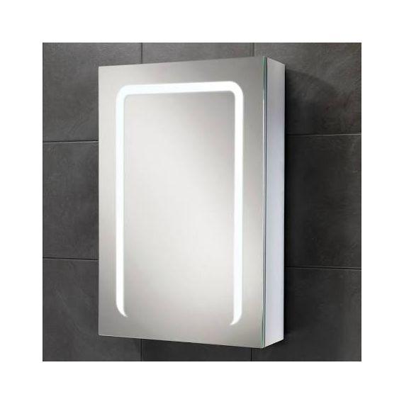 HiB Stratus 50 LED Aluminium Demisting Mirror Cabinet 46800