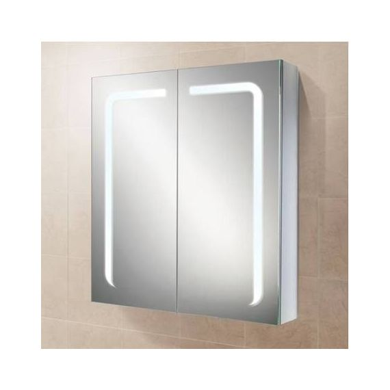 HiB Stratus 60 LED Aluminium Demisting Mirror Cabinet 46900