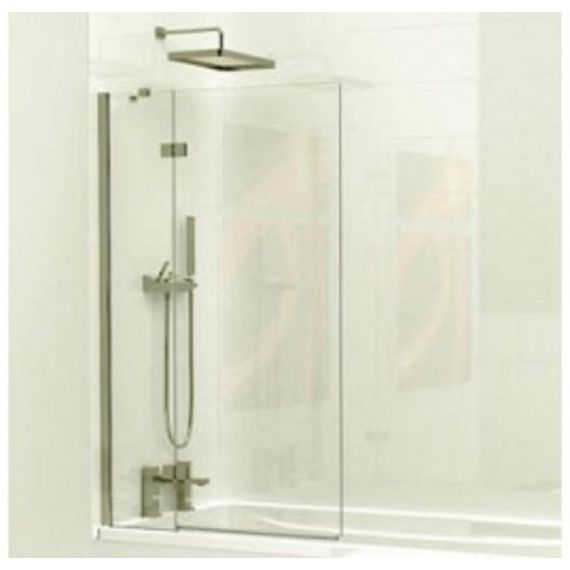 Kudos 2 Panel Outward swinging bath screen 6mm (left hand)