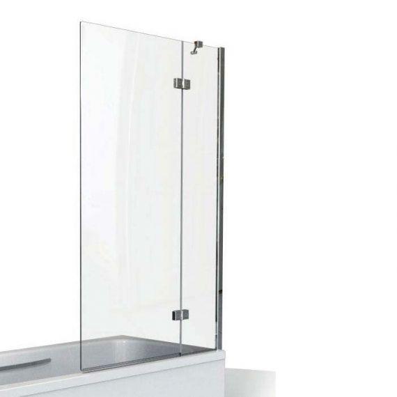 Kudos 2 Panel Outward swinging bath screen 6mm (Right hand)