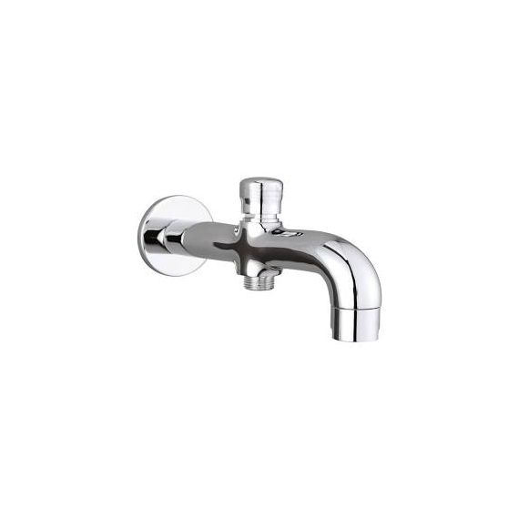 Just Taps Wall Mounted 170mm Bath Spout With Diverter Chrome 55463