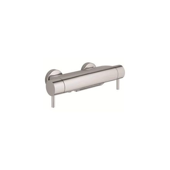 JustTaps Florence Thermostatic Bath Shower Mixer Cascade Spout Function Wall Mounted 56569