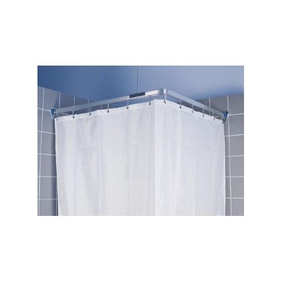 Euroshowers Bendi Track Curtain Hanging Chrome 59520