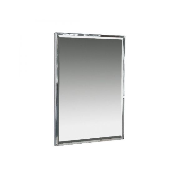Miller 643C Wall Mounted Chrome Polished bevelling Framed