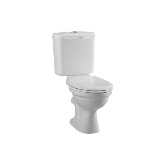 Vitra Milton Close Coupled WC Toilet Inc Soft Close Seat