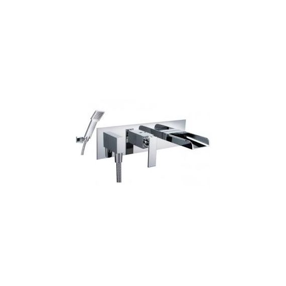 Cascata Concealed Wall Mounted Bath Shower Mixer With Kit 77153 By Just Taps