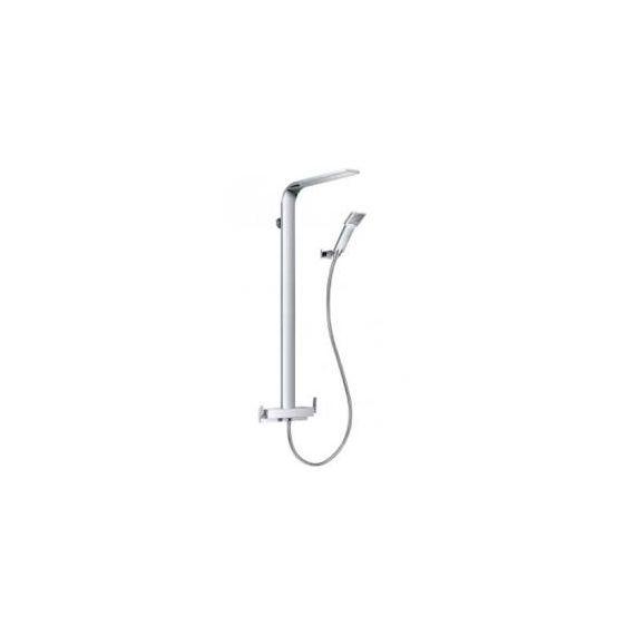 JustTaps Cascata Single Lever Shower Mixer With Rain Shower 77210/77219