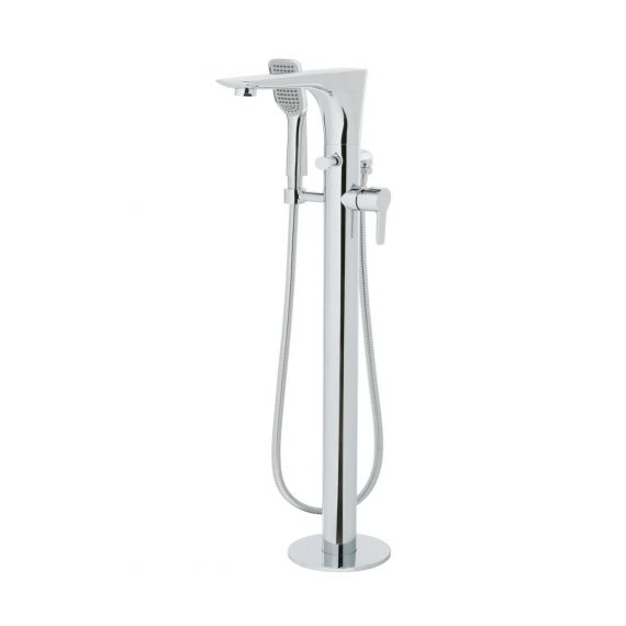 Just Taps Amore Floor Standing Bath Shower Mixer With Kit