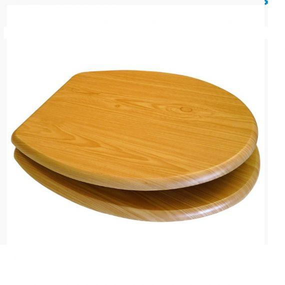 MDF Toilet Seat Antique Pine Cedar