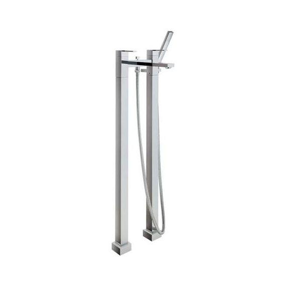 JustTaps Athena Floor Standing Bath Shower Mixer With Kit 86128SD