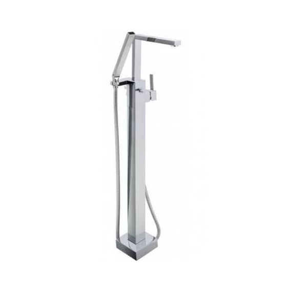 JustTaps Athena Side Lever Floor Standing Bath Shower Mixer With Kit 86158SD