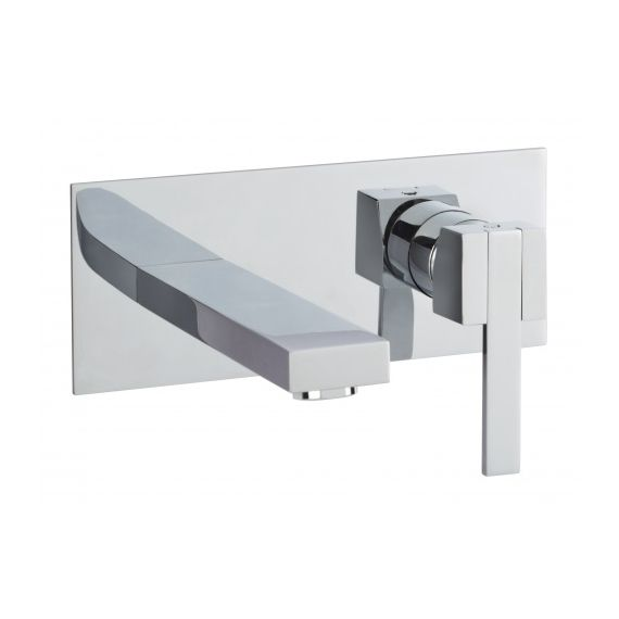 JustTaps AthenaWall Mounted Single Lever Basin Mixer 86231SD
