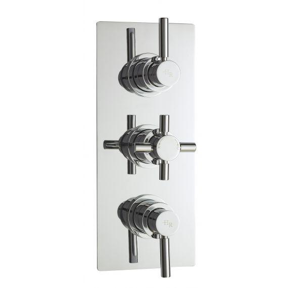Hudson Reed Tec Pura Plus Triple Thermostatic Shower Valve With Diverter