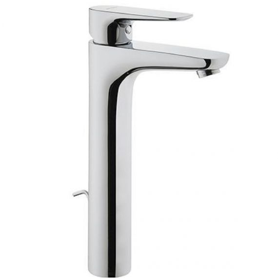 X-Line High Rise Basin Mixer Tap + Waste