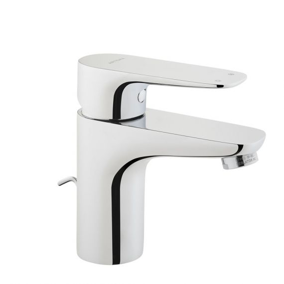 Vitra X-Line Short Basin Mixer Tap with Pop Up Waste A42387VUK