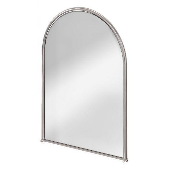 Burlington Arched Mirror Chrome Frame