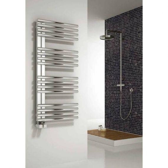 Reina Adora Steel 1106 x 500mm Designer Heated Towel Rail