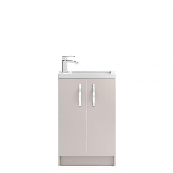 Floor Standing 500mm Cabinet & Basin