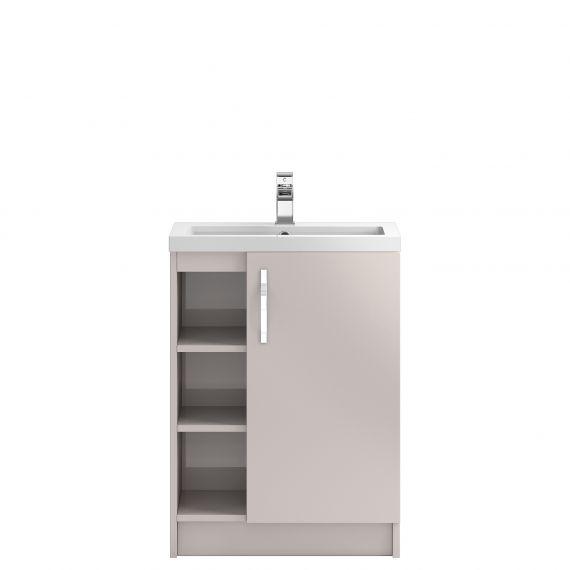Floor Standing 600mm Cabinet & Basin