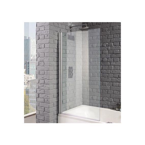 Venturi 8mm Square Edge Bath Screen 1400 x 800mm