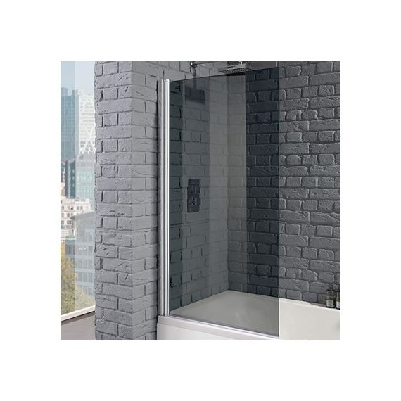 Venturi 8mm Single Square Edge Bath Screen 1400 x 800mm