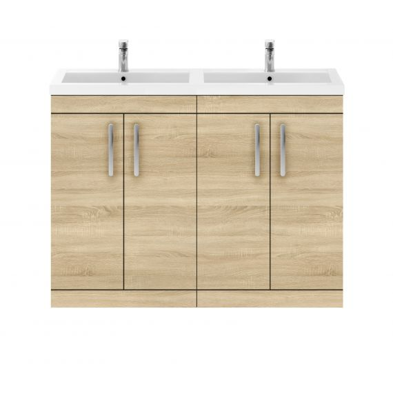 1200mm Floor Standing Cabinet & Double Basin