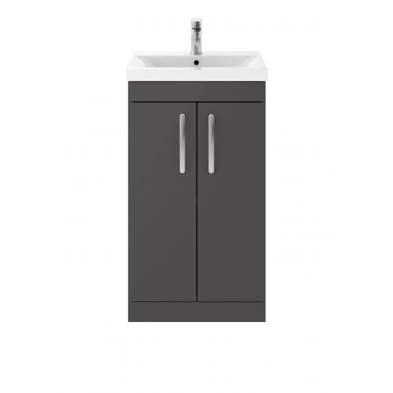 500mm Floor Standing Cabinet & Basin 2