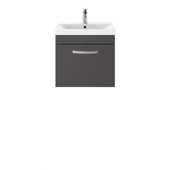 500mm Wall Hung Cabinet & Basin 2