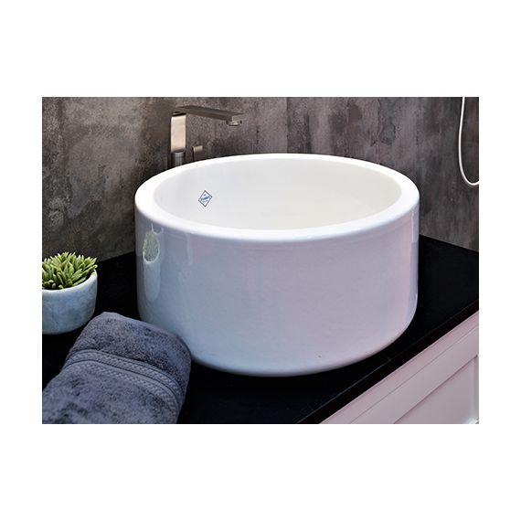 Shaws of Darwen Aysgil White Bathroom Sink SBAY460WH