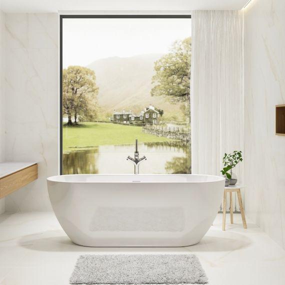 Charlotte Edwards Belgravia 1500x730 Freestanding Bath Tub CE11028