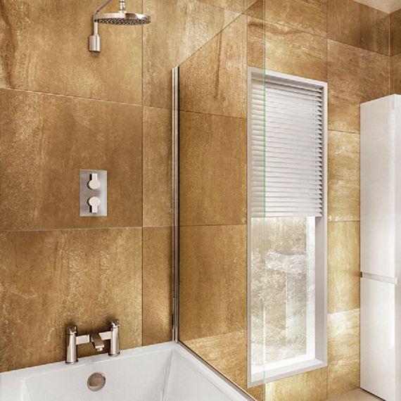 Britton 850 Single Panel Bathscreen
