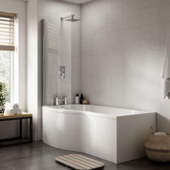 Shower Bath End Panel (750mm)