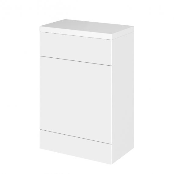 Hudson Reed Fusion Gloss White 600mm WC Unit & Top
