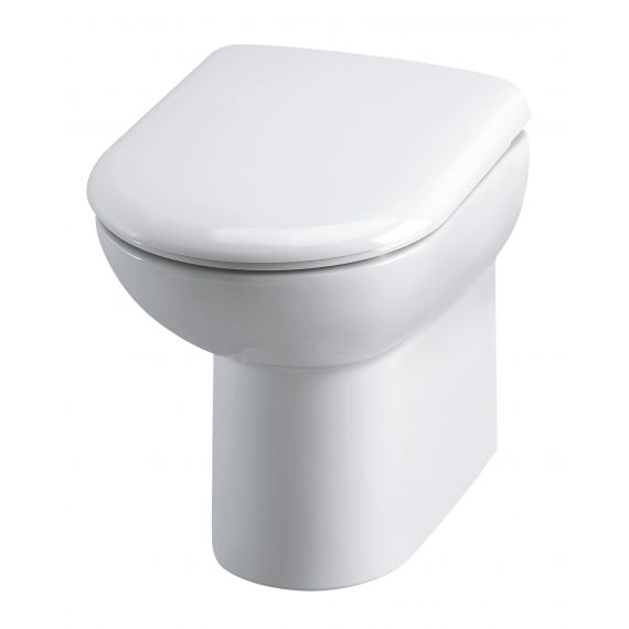 Comfort Height Back to Wall Pan & Seat