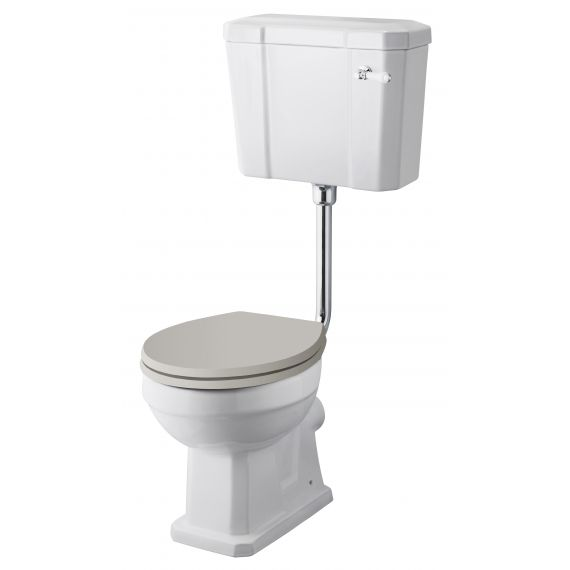 Comfort Low Level WC & Flush Pipe