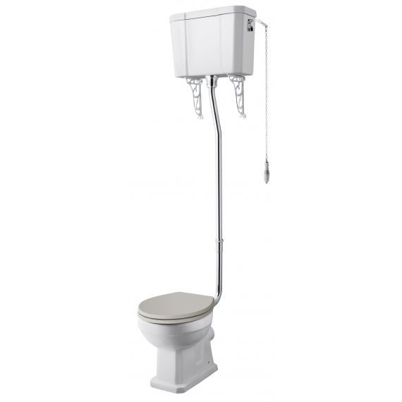 Comfort High Level WC & Flush Pipe