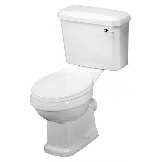 Nuie Carlton Close Coupled Pan Cistern & Seat