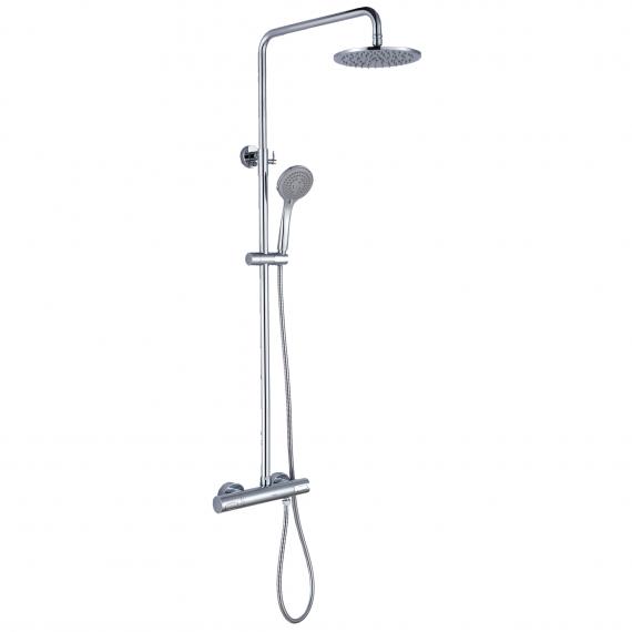 Chrome Round Shower Cool Touch RAKSHW6003