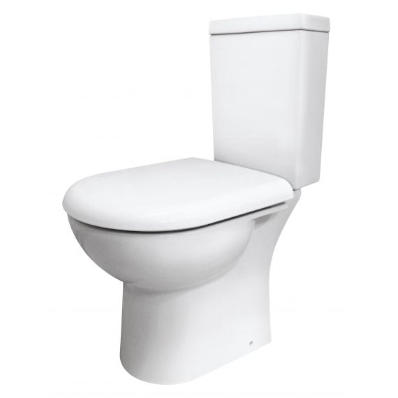 Nuie Provost Semi Flush to Wall Pan & Cistern