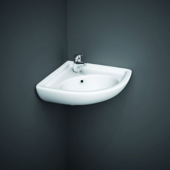 RAK-Compact Corner Basin 2th
