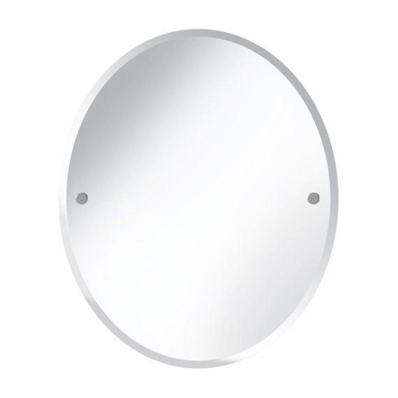 Bristan Oval 610 x 500mm Mirror COMP MROV Chrome